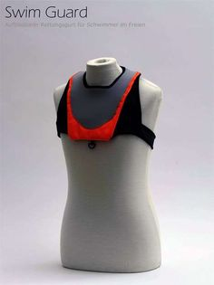 Low-Key Life Vests - The Sleek 'Swim Guard' Stays Put Until It's Inflated (GALLERY)