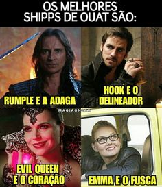 Mad hatter e o chapéu Snow e arco-flexa Todos os ex da Emma e a morte August e sua moto Kkkkkkkkkkkk Ouat, I Series, Netflix Series, Killian Jones, Once Upon A Time, Colin O'donoghue, Geek Humor, Disney Memes, Captain Swan