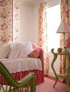 girls bedroom in Nantucket