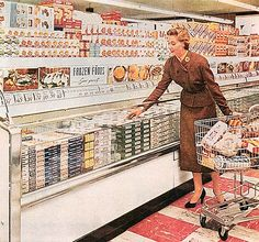 Frozen Foods - Serve Yourself!