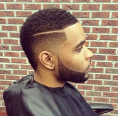 This frohawk is dope Black Men Haircuts