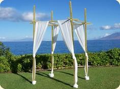 #chuppa #hawaii wedding decor