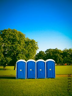 Having portable restrooms in the venue is such a great idea since it will bring comfort to the guests.