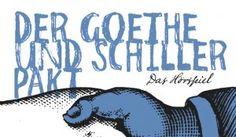 Auch heute am Weltbuchtag könnt ihr euch ein Hörbuch sichern - wenn euch diese Idee gefällt, dann macht mit - ich bin bereits dabei:  Der Goethe und Schiller Pakt - startnext.de
