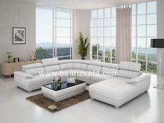modern sectional sofas white - Google Search