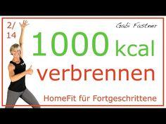 2/14♦️in 75 min. 1000 Kalorien verbrennen | Kraftausdauer ohne Geräte - YouTube