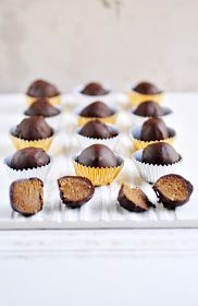 Anja's Food 4 Thought: Coffee Marzipan Pralines