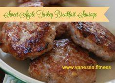 Sweet Apple Turkey Breakfast Sausage