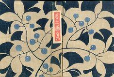Textile Patterns, Textile Prints, Textiles, Print Patterns, Floral Prints, Japanese Prints, Japanese Design, Book Cover Design, Book Design