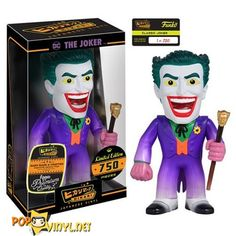 Batman Classic: The Joker Hikari Vinyl Figure - Funko Vinyl Figures, Action Figures, Video Game Costumes, Pop Figurine, Batman 1966, Dc Characters, Movie Props, Joker And Harley, Geek Gifts