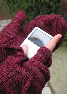 "These gloves, from ""Knitting to Stay Sane"" are fun with such gorgeous details! I love them"