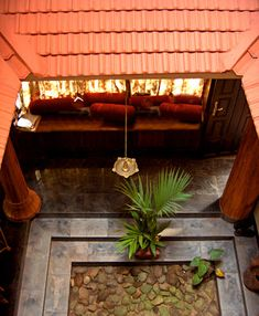 artnlight: A fusion home in Kerala nadu mittam