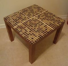 IKEA Hackers: Lack Tables Tiled