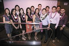 Hospitality's Young Professionals & Entrepreneurs, a committee of Hawaii Lodging & Tourism Association, launched April 26 with a party at SKY Waikiki