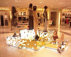 Forever 21 - Display fixtures built and engineered by Displayit Inc. California
