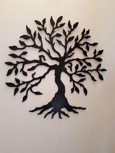 Tree of life in the stairway.