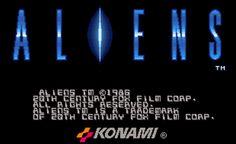 aliens, konami, arcade