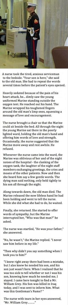 I love reading thibgs like this it makes me realize that there really are good people in the world