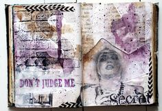 Mixed Media Place: Don't judge me