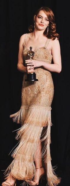 469f029ca512 Emma Stone in Givenchy. 2017 Oscars Emma Stone 2017