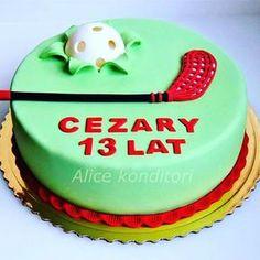 Výsledek obrázku pro innebandy tårta