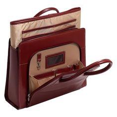 Series Lake Forest Leather Laptop Briefcase geanta de dama / servieta din piele naturala, brand: McKlein USA, material: piele naturala (Italian Leather) / FULL-GRAIN LEATHER (calitatea suprema in ...