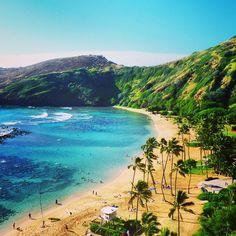 Hanauma Bay, Oahu, Hawaii. Photo courtesy of itchysole on Instagram.
