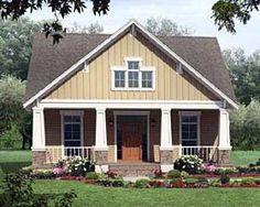 Country   Craftsman   Narrow Lot   House Plan 59147