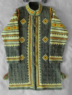 "Serdak (a kind of a coat) knitted with wool ""Kolomyya"""