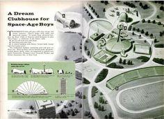 vintage space age motel - Bing Images