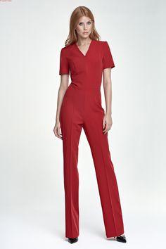 Kombinezon - czerwony  Zapraszamy do sklepu online Eve Polka oraz sklepu stacjonarnego w centrum handlowym Land w Warszawie