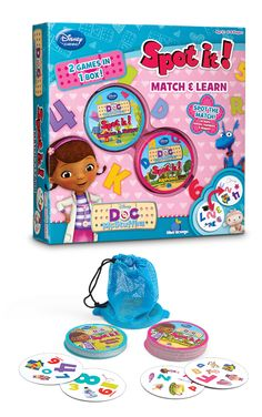 I've always been a big of all the Spot It games but discovering the Disney Spot It game collection has been a game changer!  Great for visual motor and visual perceptual skills, language development and improving language skills.