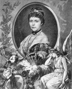 Empress Friedrich   ... : Consort Profile: German Empress Augusta von Saxe-Weimar-Eisenach
