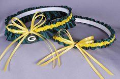 Green Bay Packers Wedding Garter!  YESSSSSSS