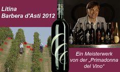 """Ein Barbera ganz besonderer Klasse aus den Hügeln von Monteferrato im Piemont! Maria Borio, die """"Primadonna del Vino"""", beweist, dass der Barbera der früher als Bauernwein galt, auch große Weine hervorbringen kann!  Er stammt von einem uralten Weinberg mit steiler Hanglage und nur geringem Ertrag. Daraus resultiert diese wunderbare Aromatiefe und Gehaltsfülle. Bemerkenswert ist die für einen Barbera seltene Balance zwischen Körper, Säure und Tannin. Insgesamt ein einprägsamer Wein, der mit… Bottle, Drinks, Vineyard, Drinking, Beverages, Flask, Drink, Beverage, Jars"""