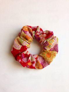Japanese fabric scrunchie japanese pattern gauze by SmithjackJapan, $1.50