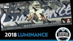 2018 Panini Luminance Football Hobby Box - 3 Autos per Box!