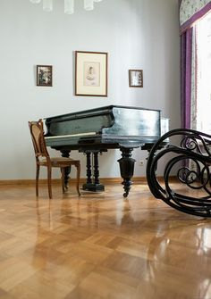 """The piano of Ella saved in the Marfo-Mariinsky Convent, Moscow she established in 1908. The name """"Ella"""" is still on the surface of this piano~"""
