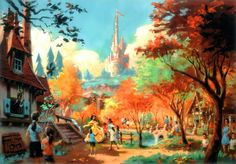 The new fantasyland at magic kingdom concept art #disneyworld