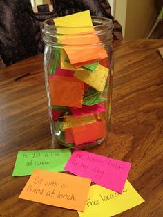 A  privilege jar where students generate the privileges (may need to be monitored) could act as a great incentive.  Great idea!