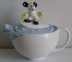 "Vintage Teapot ""Mickey Mouse"" by DisneyanaMuseumsCollection, via Flickr"