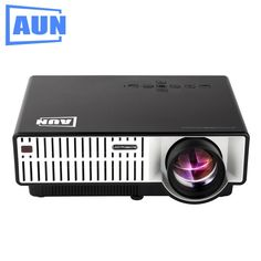 168.30$  Watch now - http://alirwj.worldwells.pw/go.php?t=32746143857 - AUN Projector 2800 Lumens T31 LED Projector 1280 X 800 Quasi Professional Level Beamer for Home Theater Meeting Room Classroom