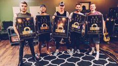 Thanks to YOU we get to hang these gold records on our wall 👊🏻 Charles Trippy, Tour Manager, We The Kings, Saddest Songs, Nerd, Thankful, Movie Posters, Wall, Film Poster