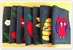 Miss P: Felted Wool Needle Cases....