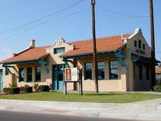 old Santa Fe Depot; Las Cruces, New Mexico