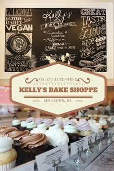 Kelly's Bake Shoppe in Burlington, Ontario, Canada. My favorite vegan bakery in the world! Read more: http://justinpluslauren.com/kellys-bake-shoppe/