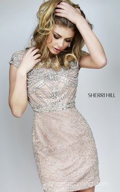 Beads Shining Sherri Hill 11164 Homecoming Dress 2014