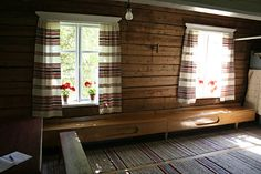 Typical 'tupa' in rural Finland Moomin House, 1930s House, Tallit, Hiding Places, Organic Living, Scandinavian Home, First Home, Old Houses, Finland