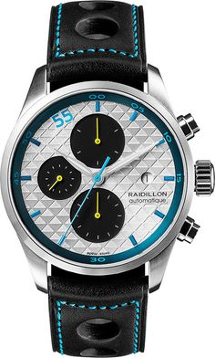 Raidillon Watch Design Chronograph Limited Edition #add-content #bezel-fixed #bracelet-strap-leather #brand-raidillon #case-material-steel #case-width-42mm #chronograph-yes #date-yes #delivery-timescale-call-us #dial-colour-silver #gender-mens #limited-edition-yes #luxury #movement-automatic #new-product-yes #official-stockist-for-raidillon-watches #packaging-raidillon-watch-packaging #style-dress #subcat-design #supplier-model-no-42-c10-159 #warranty-raidillon-official-5-year-guarantee…