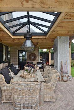 Casa Patio, Pergola Patio, Backyard Patio Designs, Backyard Landscaping, House Extension Design, House Design, Outdoor Rooms, Outdoor Living, Ideas Terraza